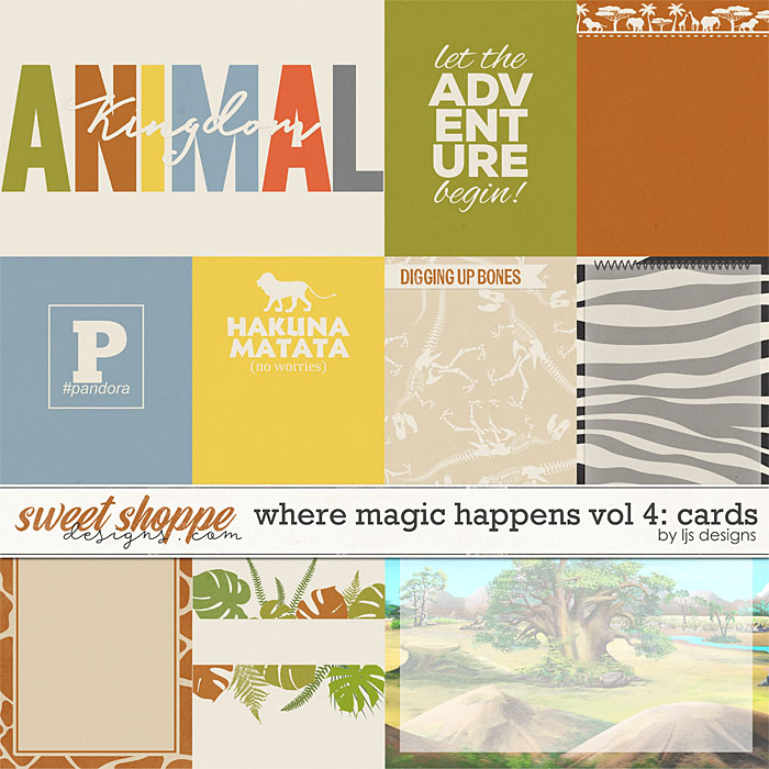 Where Magic Happens Vol. 4: Cards by LJS Designs