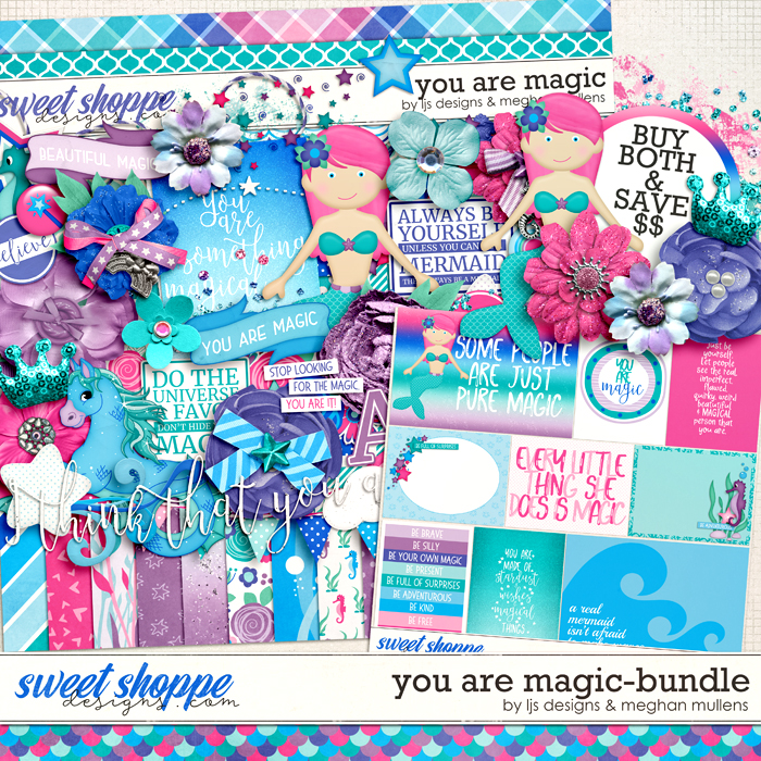 You Are Magic-Bundle by LJS Designs & Meghan Mullens