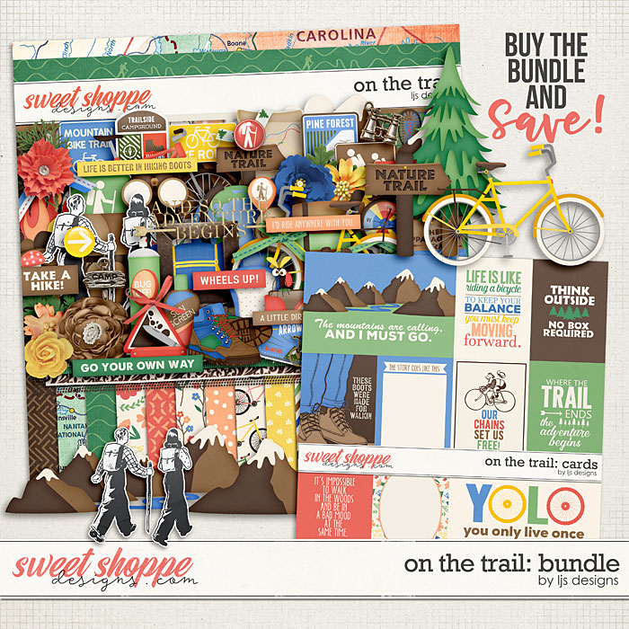On The Trail: Bundle by LJS Designs