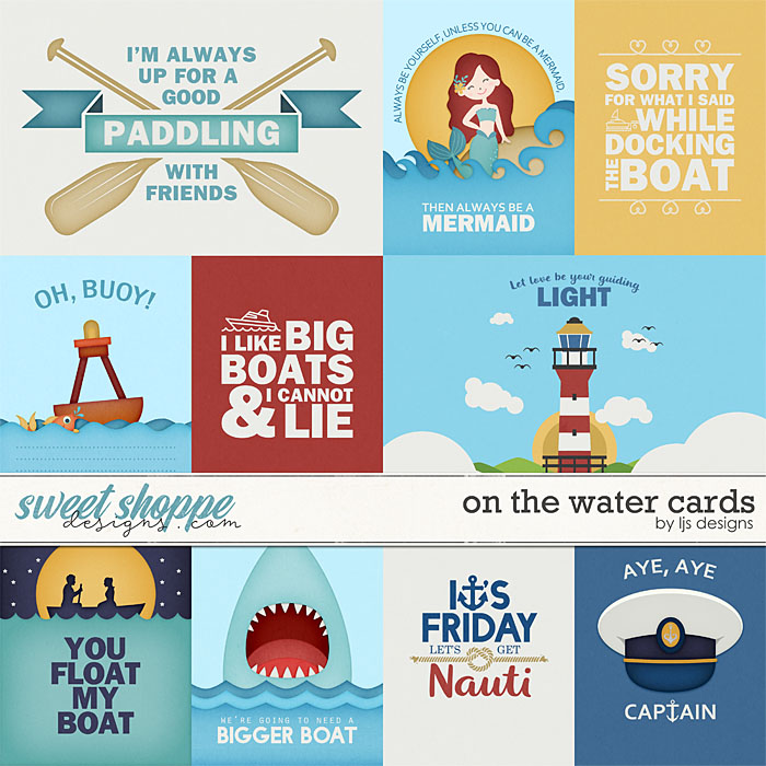 On The Water - Cards by LJS Designs