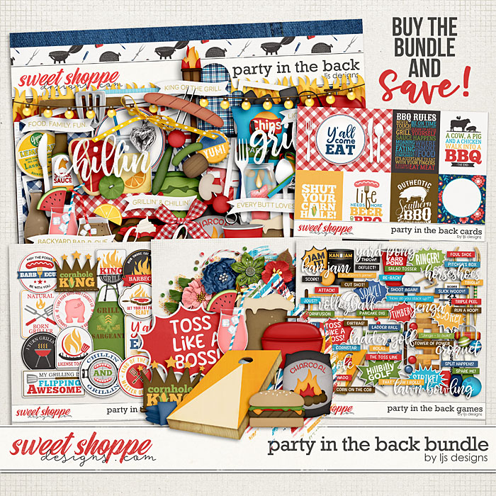 Party In The Back Bundle by LJS Designs