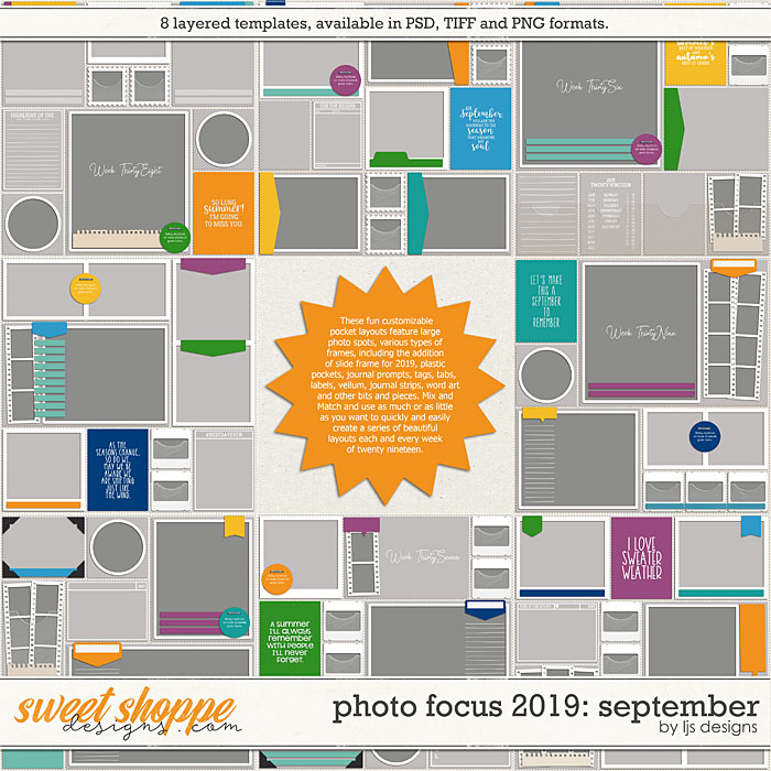 Photo Focus 2019: September by LJS Designs