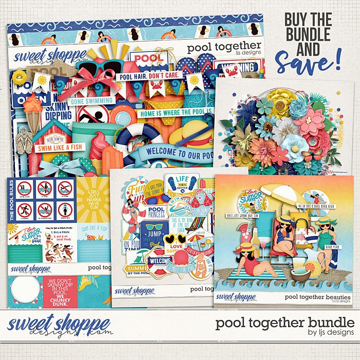 Pool Together Bundle by LJS Designs