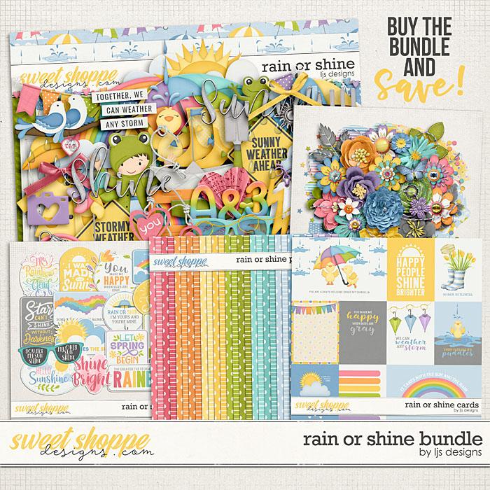 Rain Or Shine Bundle by LJS Designs