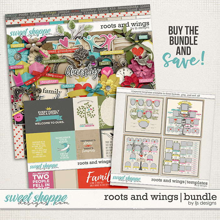 Roots and Wings | Bundle by LJS Designs
