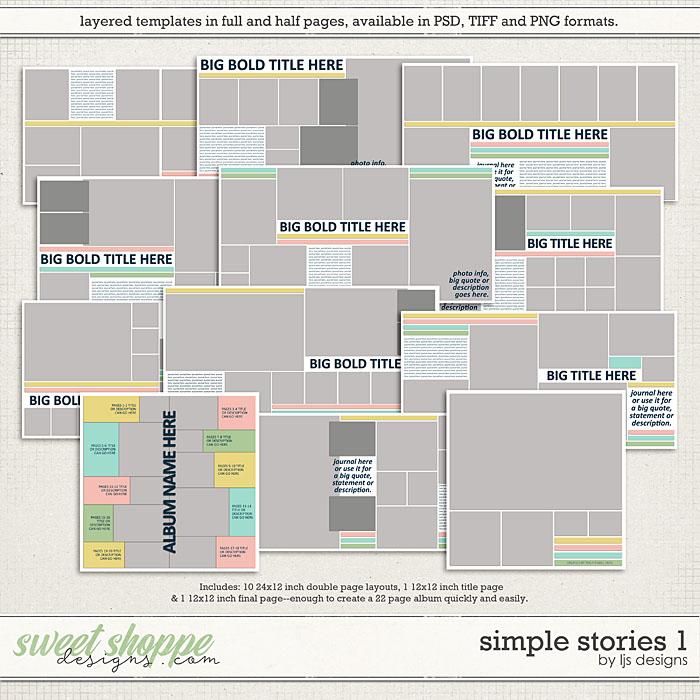 Simple Stories 1 by LJS Designs