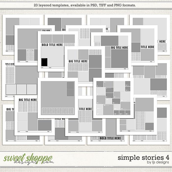 Simple Stories 4 by LJS Designs