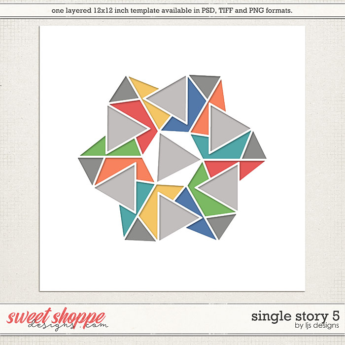 Single Story 5 by LJS Designs