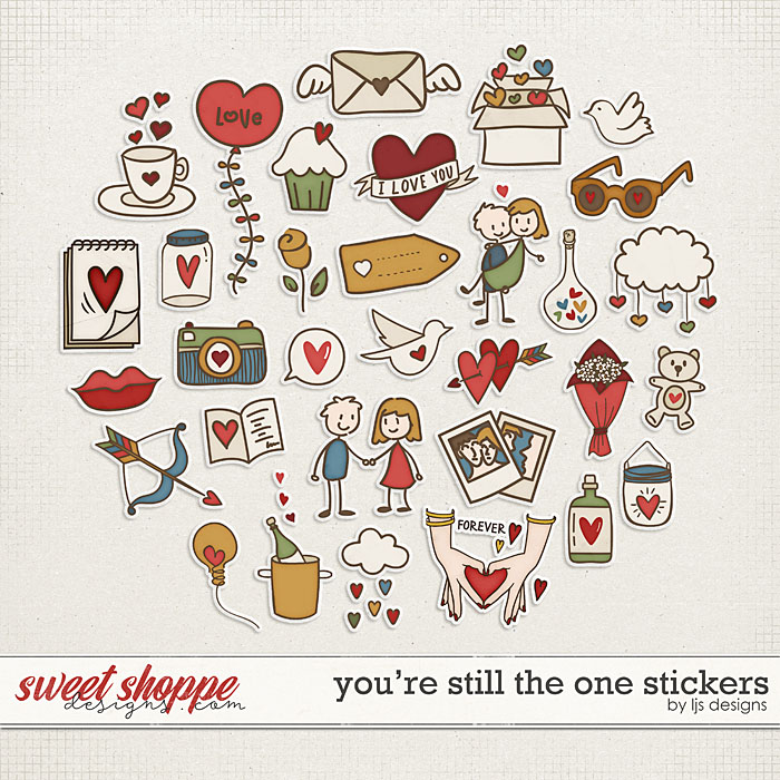 You're Still The One Stickers by LJS Designs