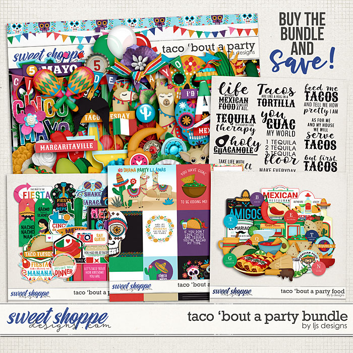Taco 'Bout A Party Bundle by LJS Designs