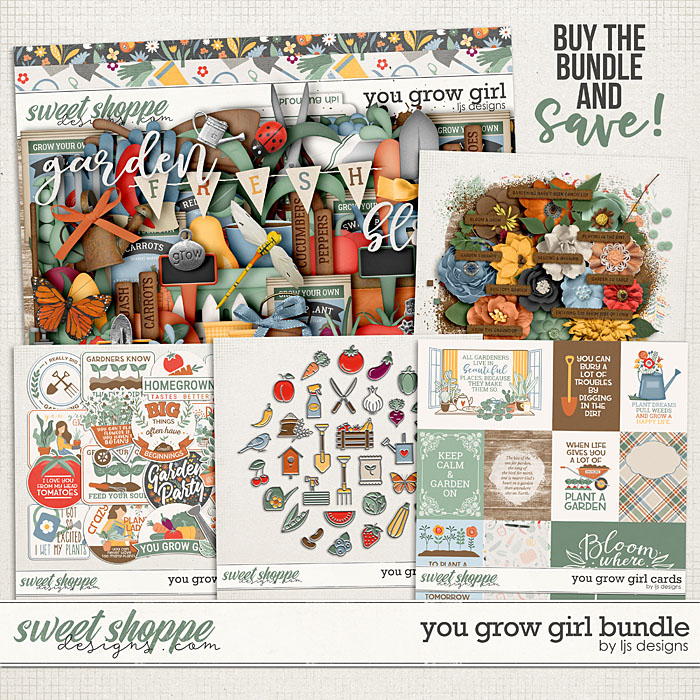 You Grow Girl Bundle by LJS Designs