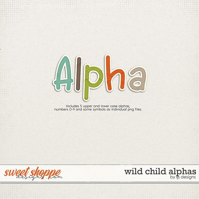 Wild Child Alphas by LJS Designs