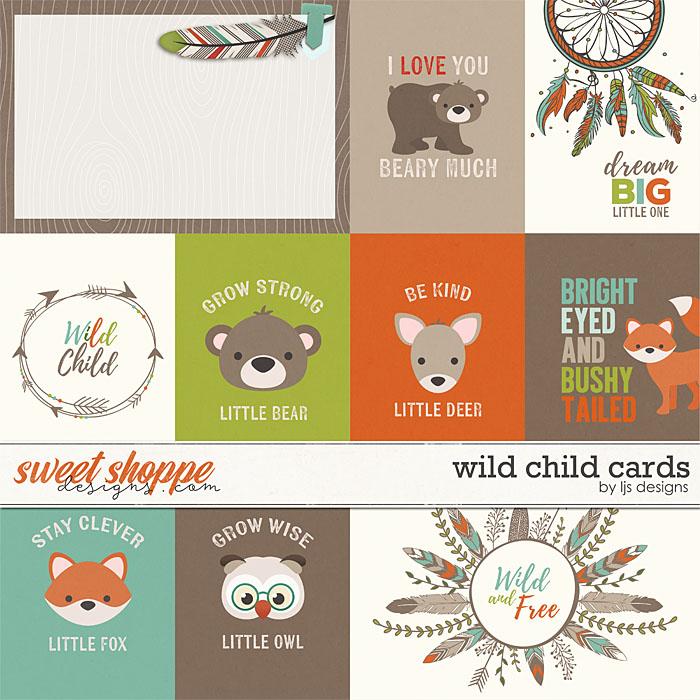 Wild Child Cards by LJS Designs