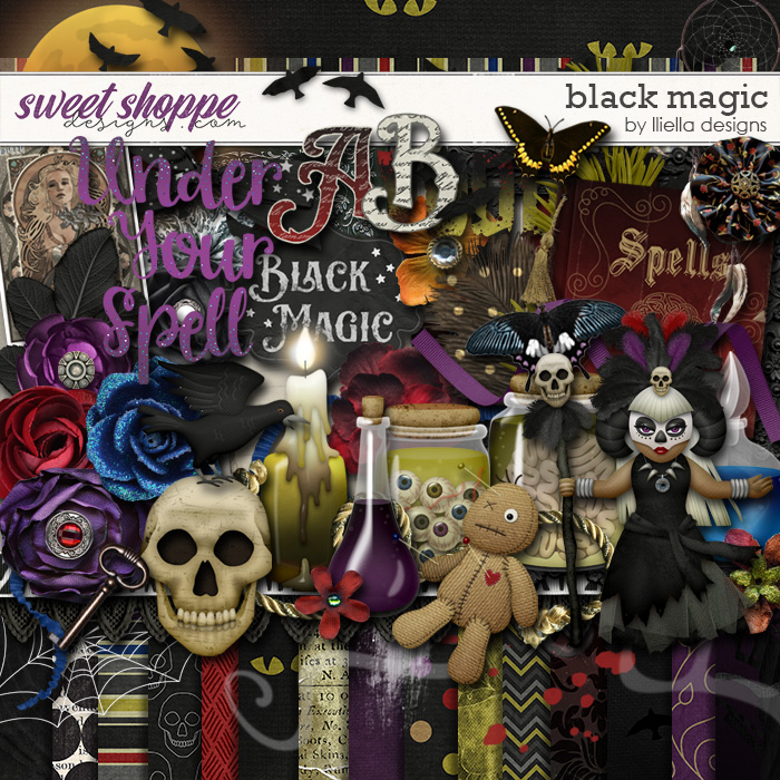 Black Magic by lliella designs