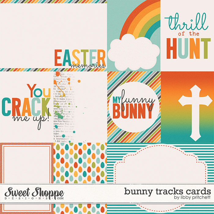 Bunny Tracks Cards by Libby Pritchett