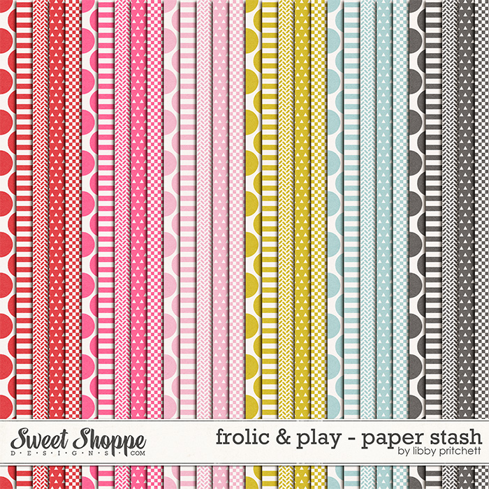 Frolic & Play Paper Stash by Libby Pritchett