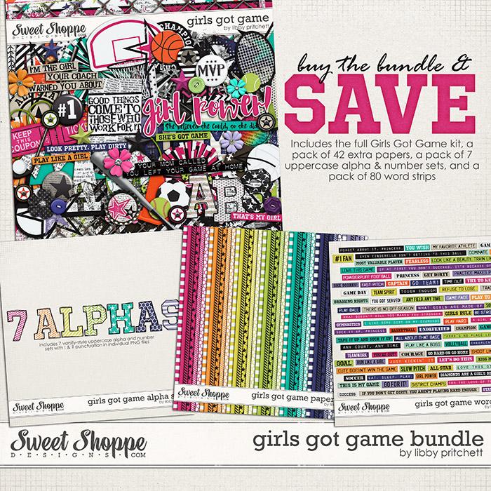 Girls Got Game Bundle by Libby Pritchett