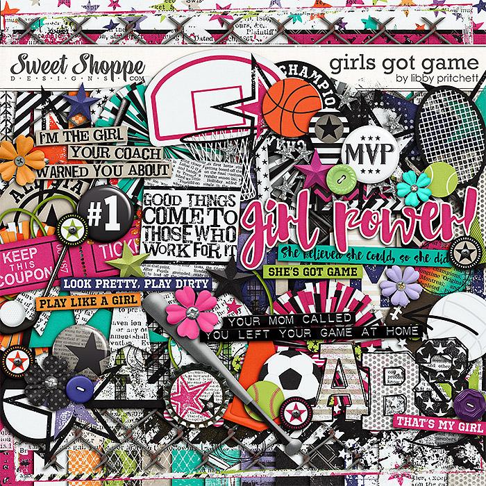 Girls Got Game by Libby Pritchett
