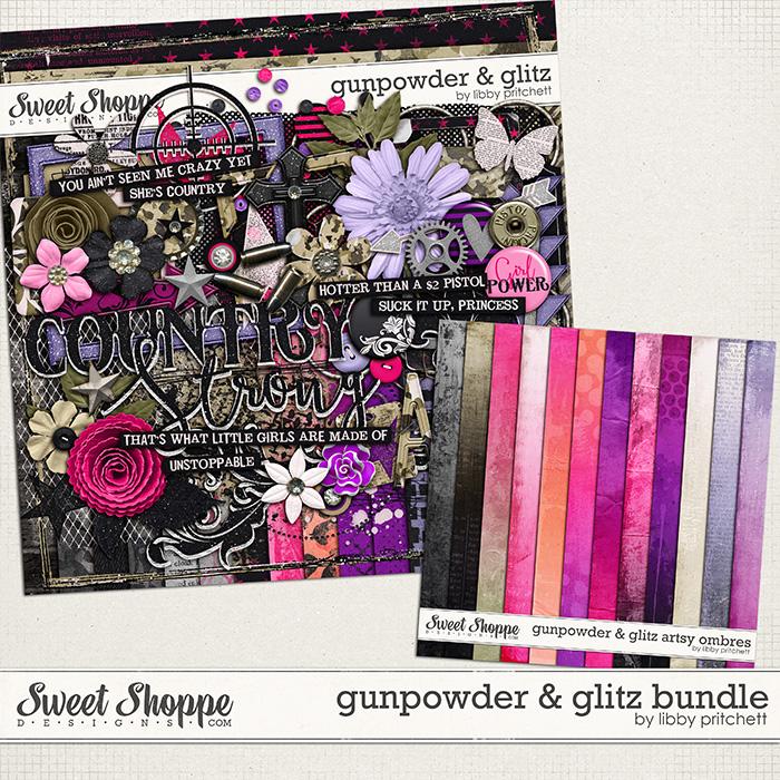 Gunpowder & Glitz Bundle by Libby Pritchett