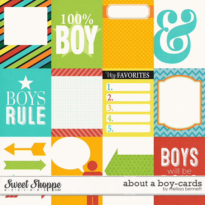 About a Boy Cards by Melissa Bennett