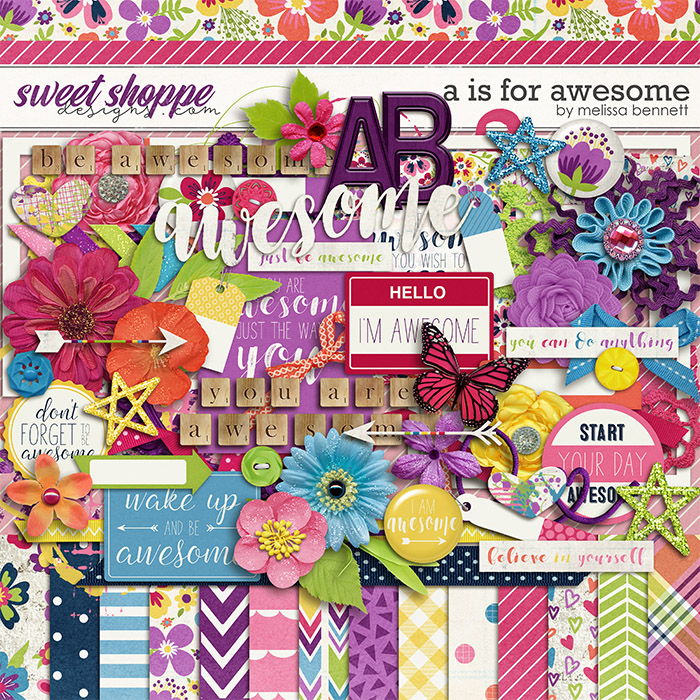A is for Awesome by Melissa Bennett