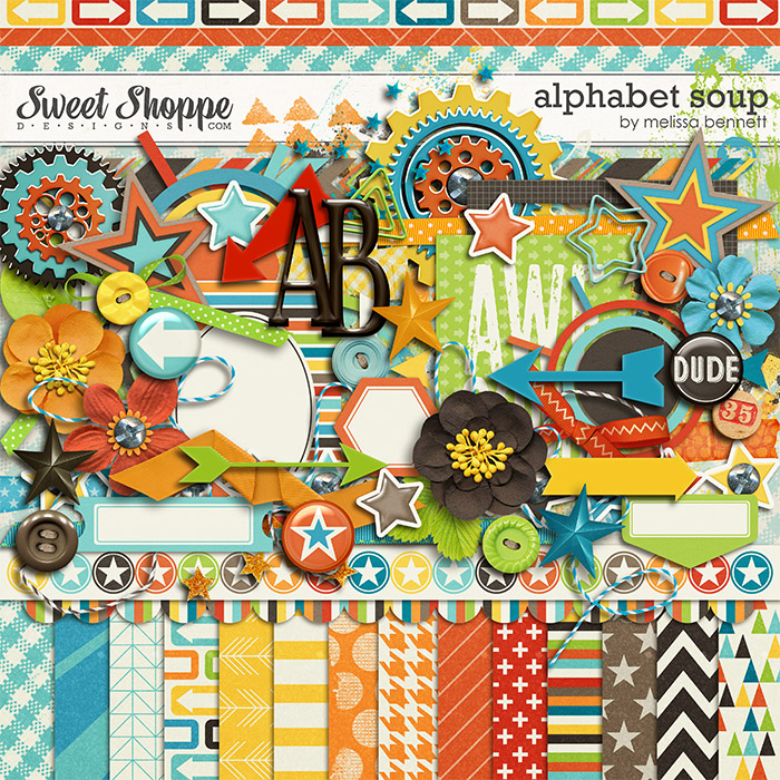 Alphabet Soup by Melissa Bennett