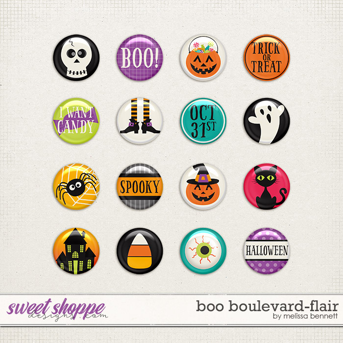 Boo Boulevard-Flair by Melissa Bennett