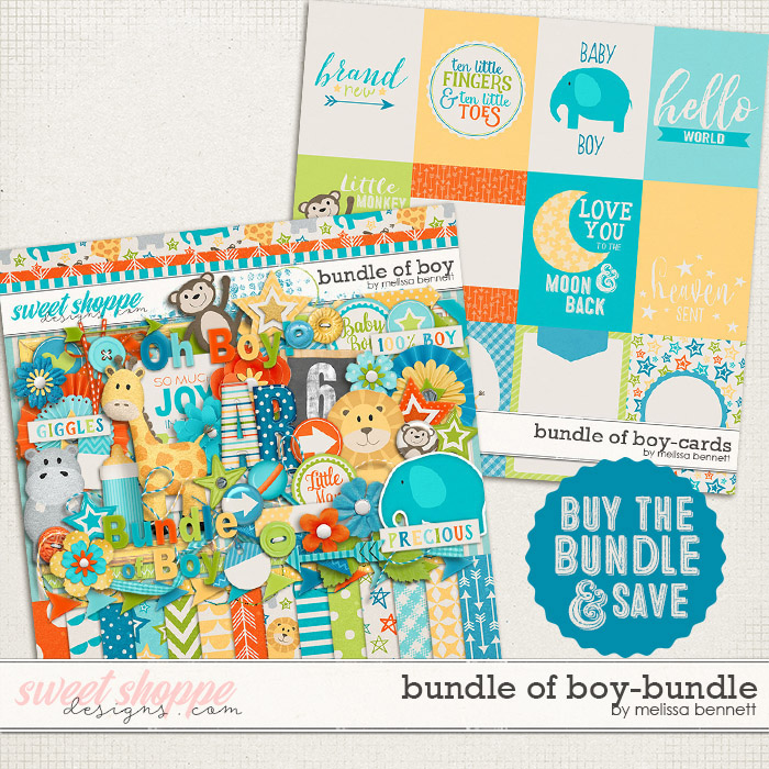 Bundle of Boy Bundle by Melissa Bennett