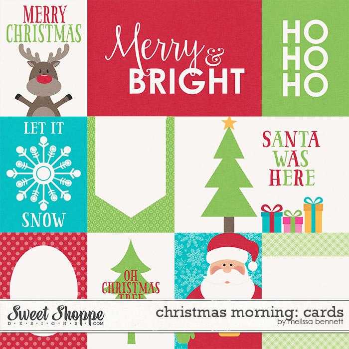 Christmas Morning Cards by Melissa Bennett