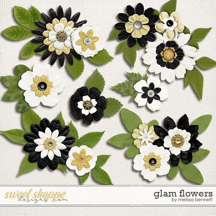 Glam Flowers by Melissa Bennett