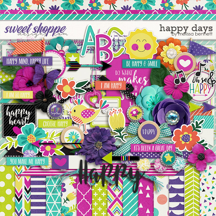 Happy Days by Melissa Bennett