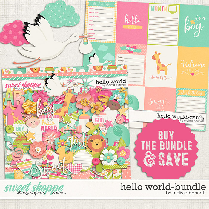Hello World-Bundle by Melissa Bennett
