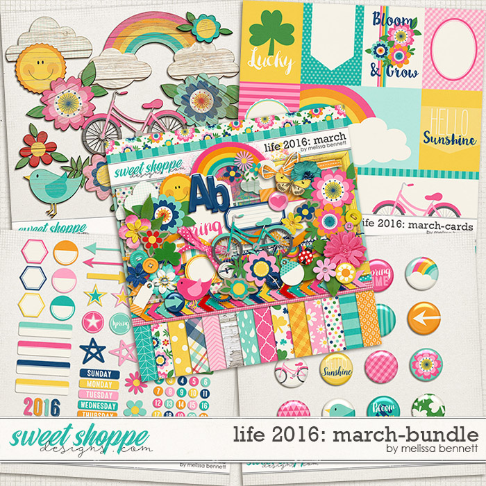 Life 2016-March: Bundle by Melissa bennett