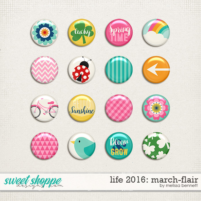 Life 2016-March: Flair by Melissa Bennett