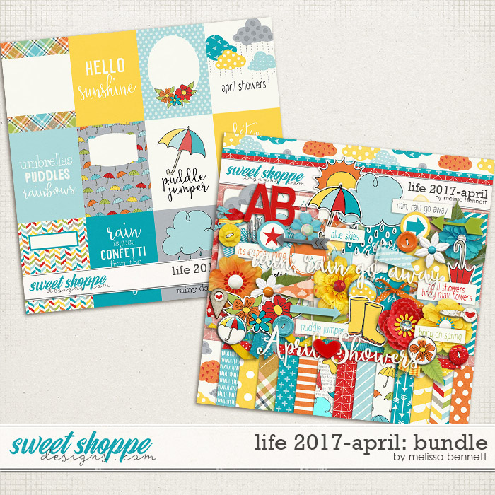 Life 2017-April Bundle by Melissa Bennett
