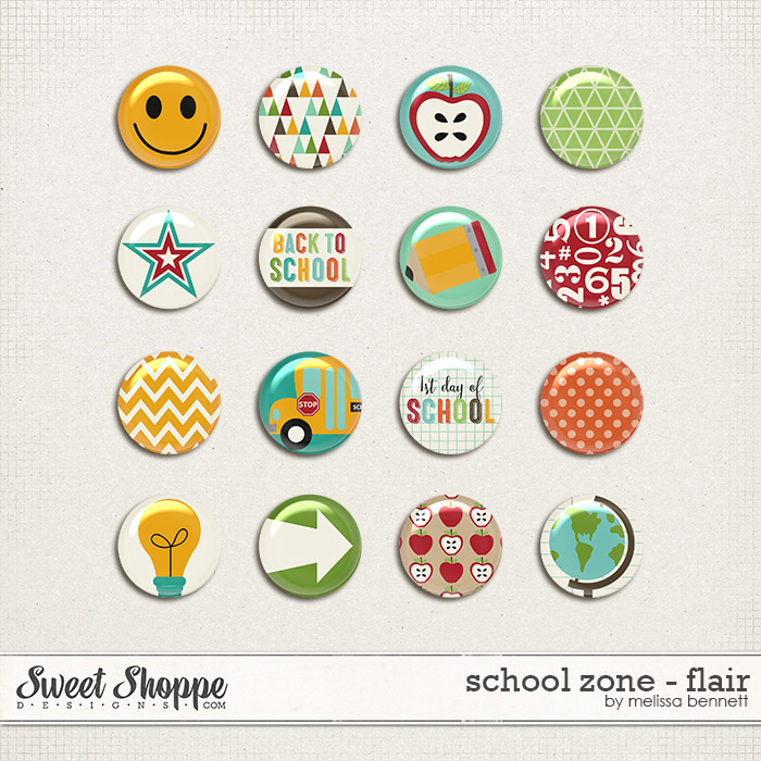 School Zone - Flair by Melissa Bennett