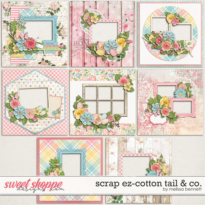 Scrap EZ-Cottontail & Co. by Melissa Bennett