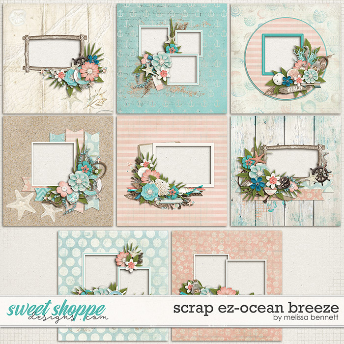 Scrap EZ-Ocean Breeze by Melissa Bennett