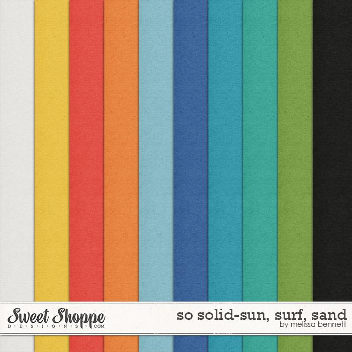 So Solid-Sun, Surf, Sand by Melissa Bennett
