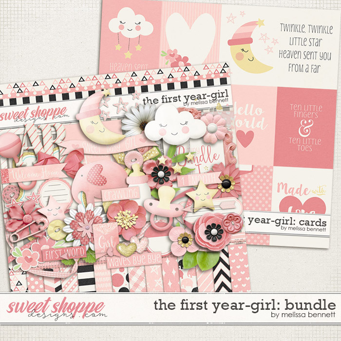 The First Year-Girl: Bundle by Melissa Bennett