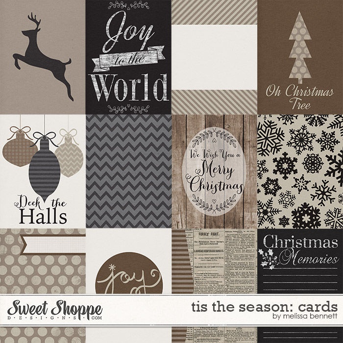 Tis The Season Cards by Melissa Bennett