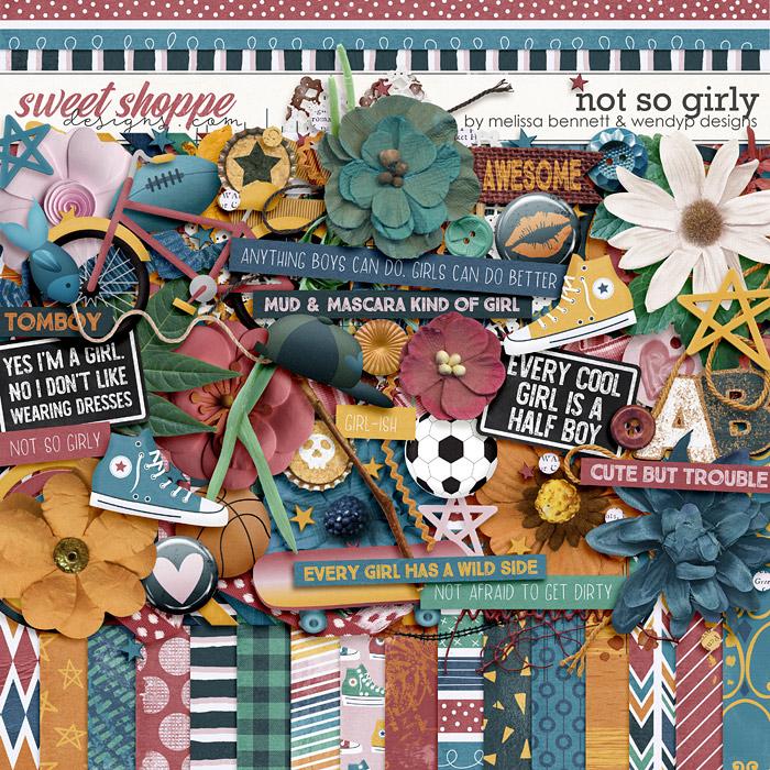 Not So Girly by WendyP Designs & Melissa Bennett