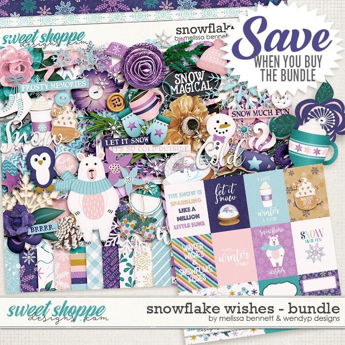 Snowflake Wishes Bundle by WendyP Designs & Melissa Bennett