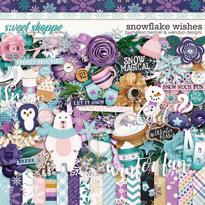 Snowflake Wishes by WendyP Designs & Melissa Bennett