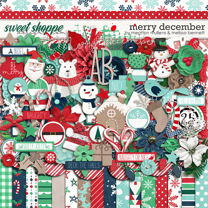 A Merry December-Kit by Melissa Bennett and Meghan Mullens