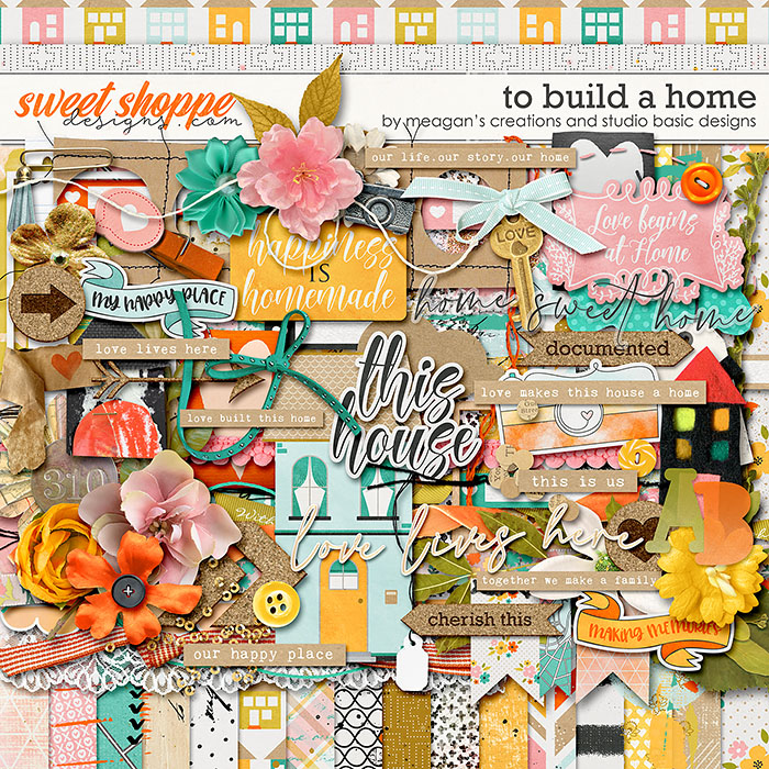 To Build A Home Kit Meagan's Creations and Studio Basic Designs