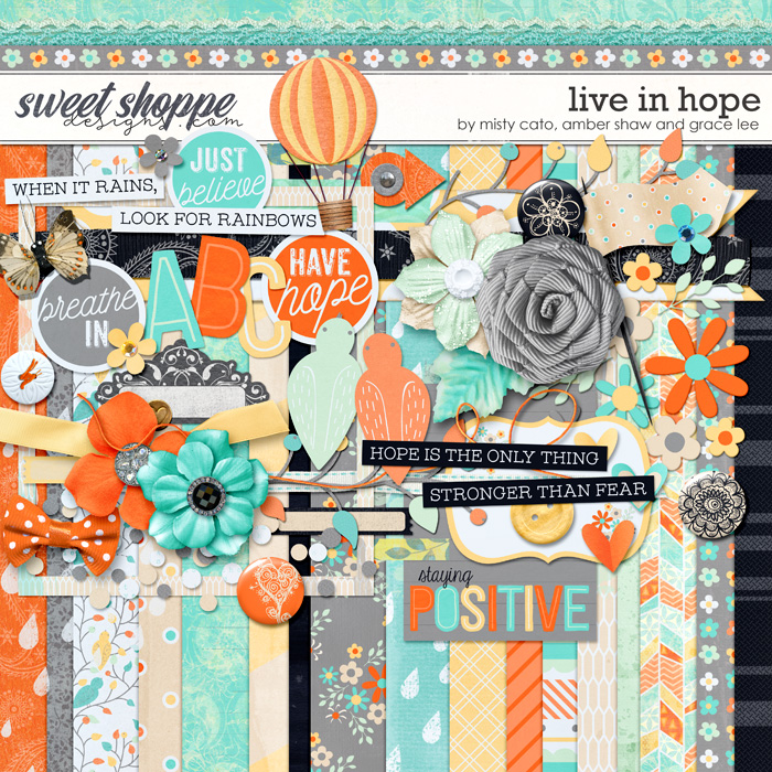 Live in Hope by Misty Cato, Amber Shaw and Grace Lee