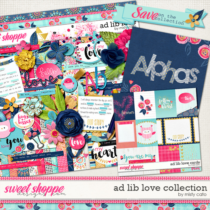 Ad Lib Love Collection by Misty Cato