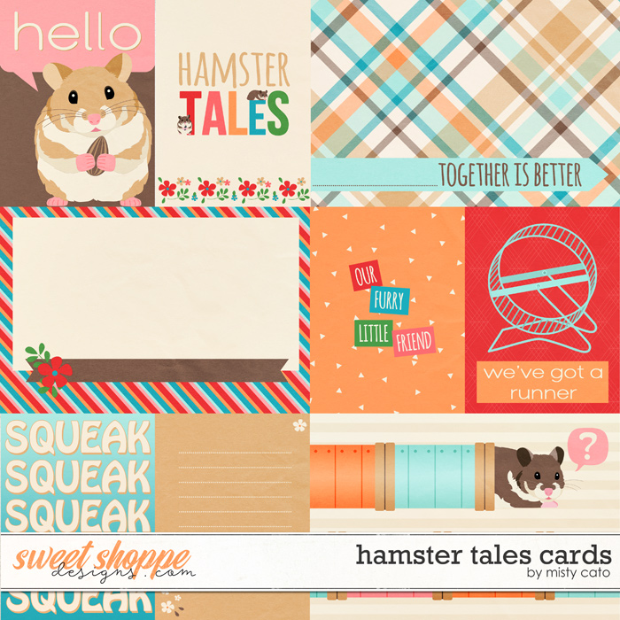 Hamster Tales Cards by Misty Cato