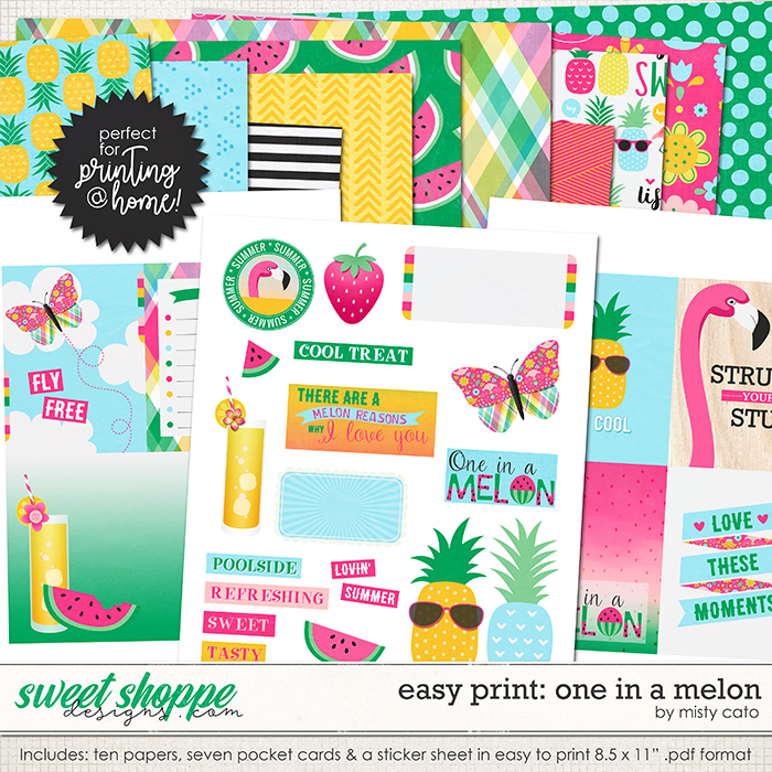 Easy Print: One in a Melon by Misty Cato